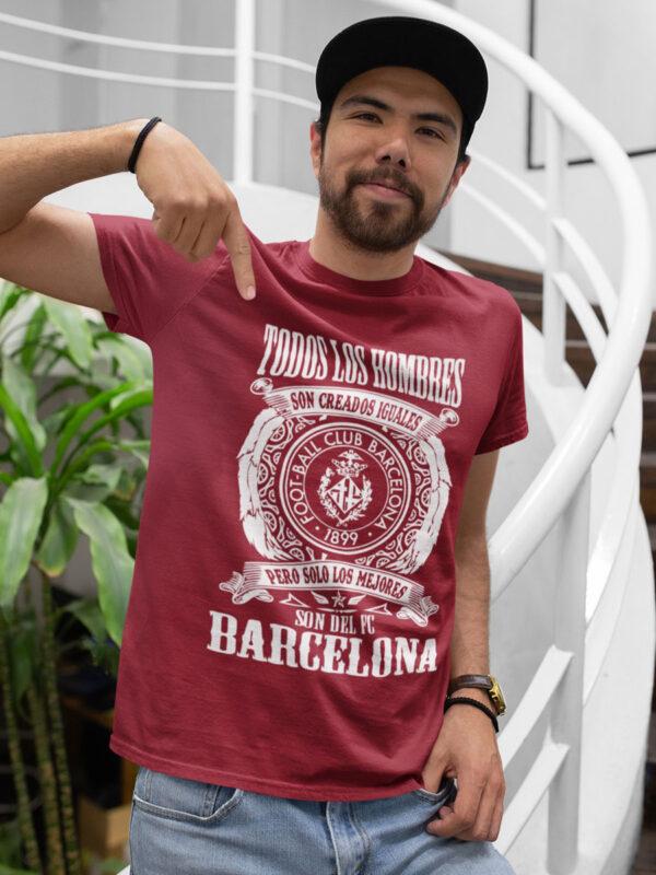 Camiseta fc Barcelona burdeos
