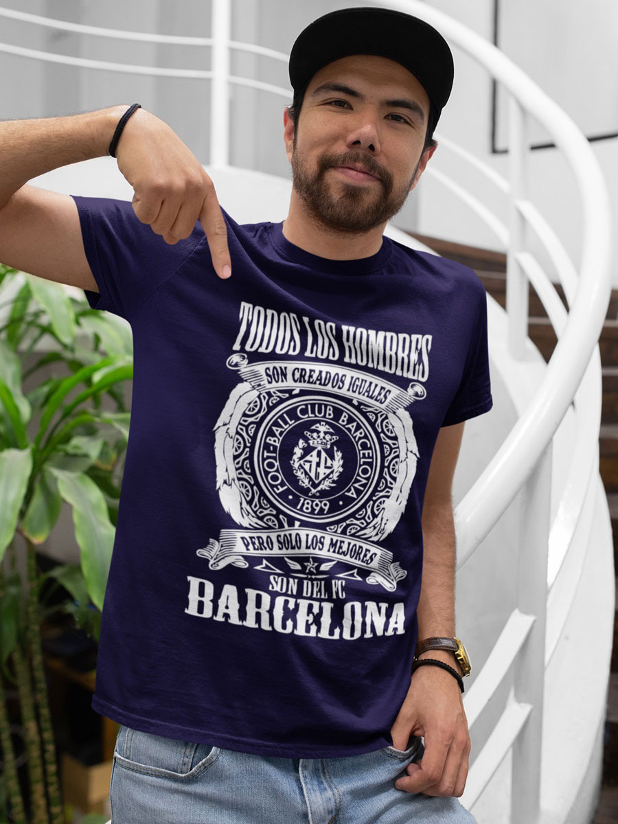 Camiseta fc Barcelona marino