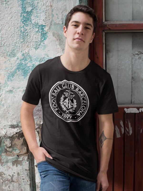 Camiseta fc Barcelona negra