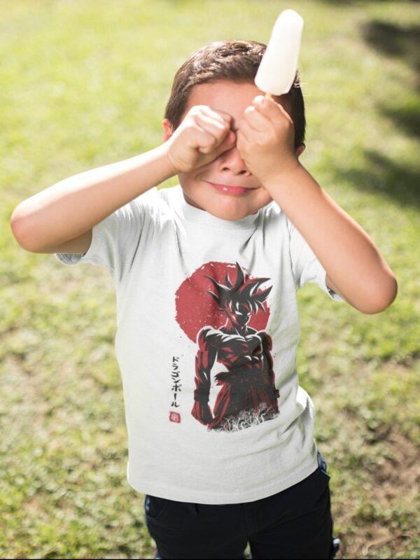 camiseta goku dragon ball