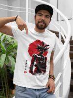 camiseta goku dragon ball blanca