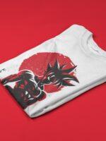 camiseta goku dragon ball doblada
