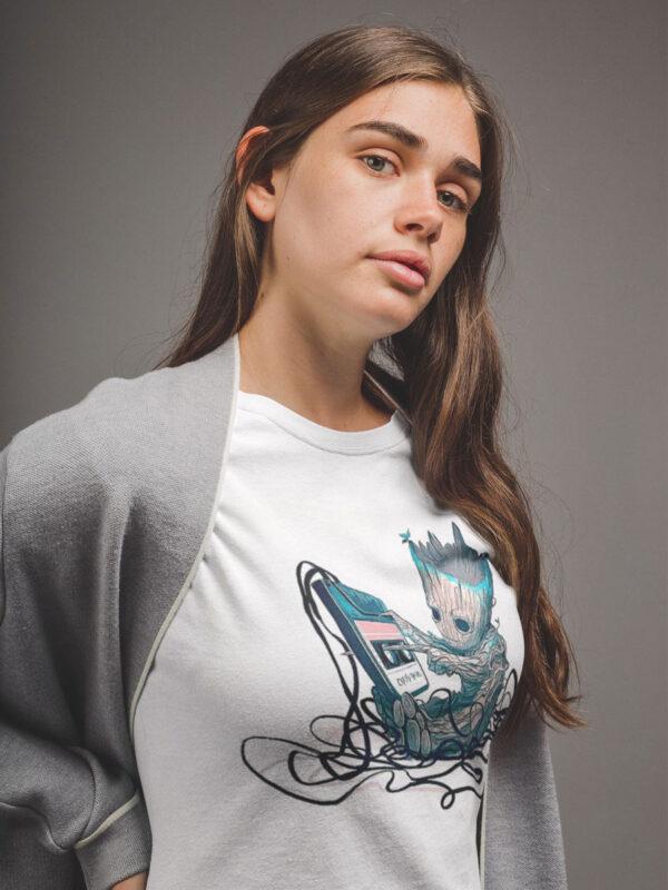 camiseta groot unisex