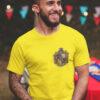 camiseta hufflepufe amarilla