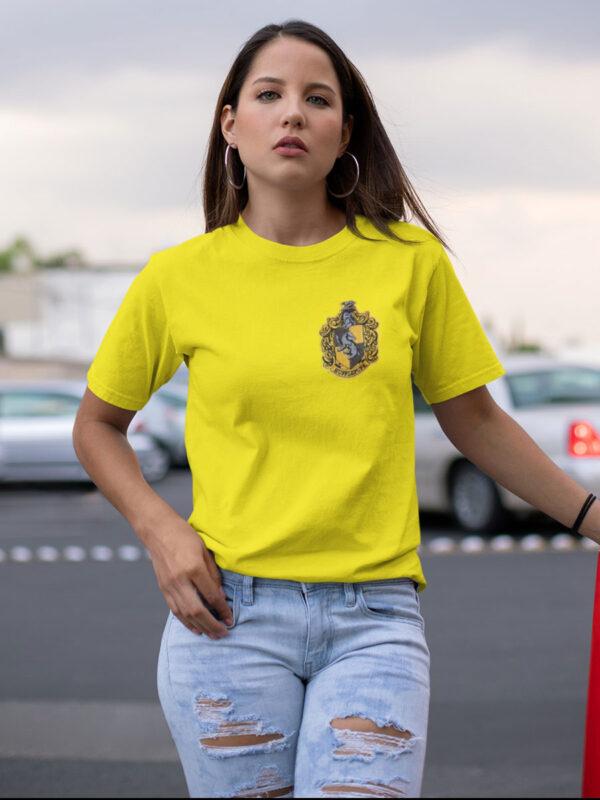 camiseta hufflepufe amarilla unisex