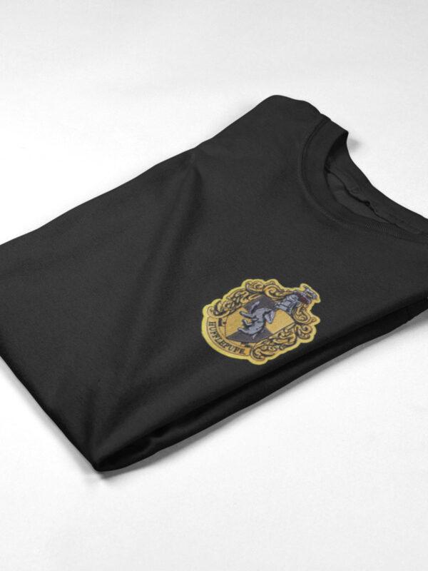 camiseta hufflepufe negra