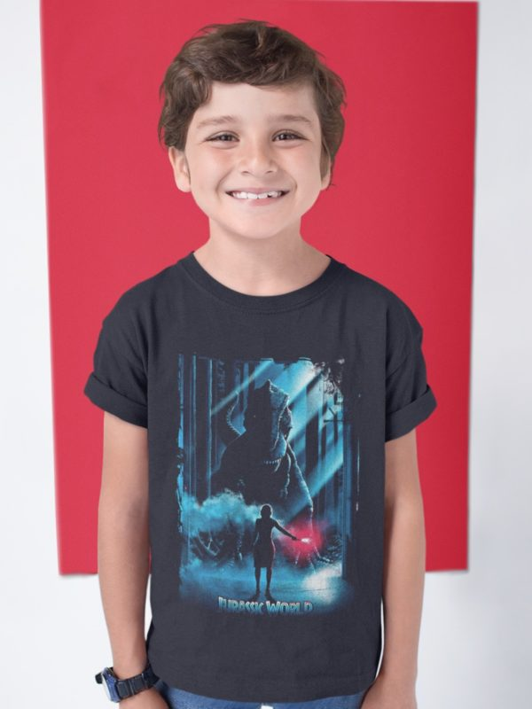 camiseta jurassic world mas dientes