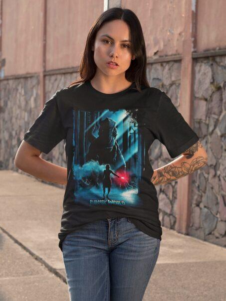 camiseta jurassic world mas dientes unisex