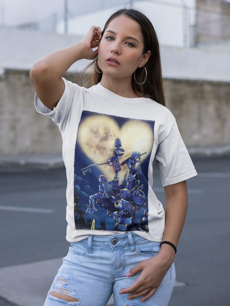 camiseta kingdom hearts unisex