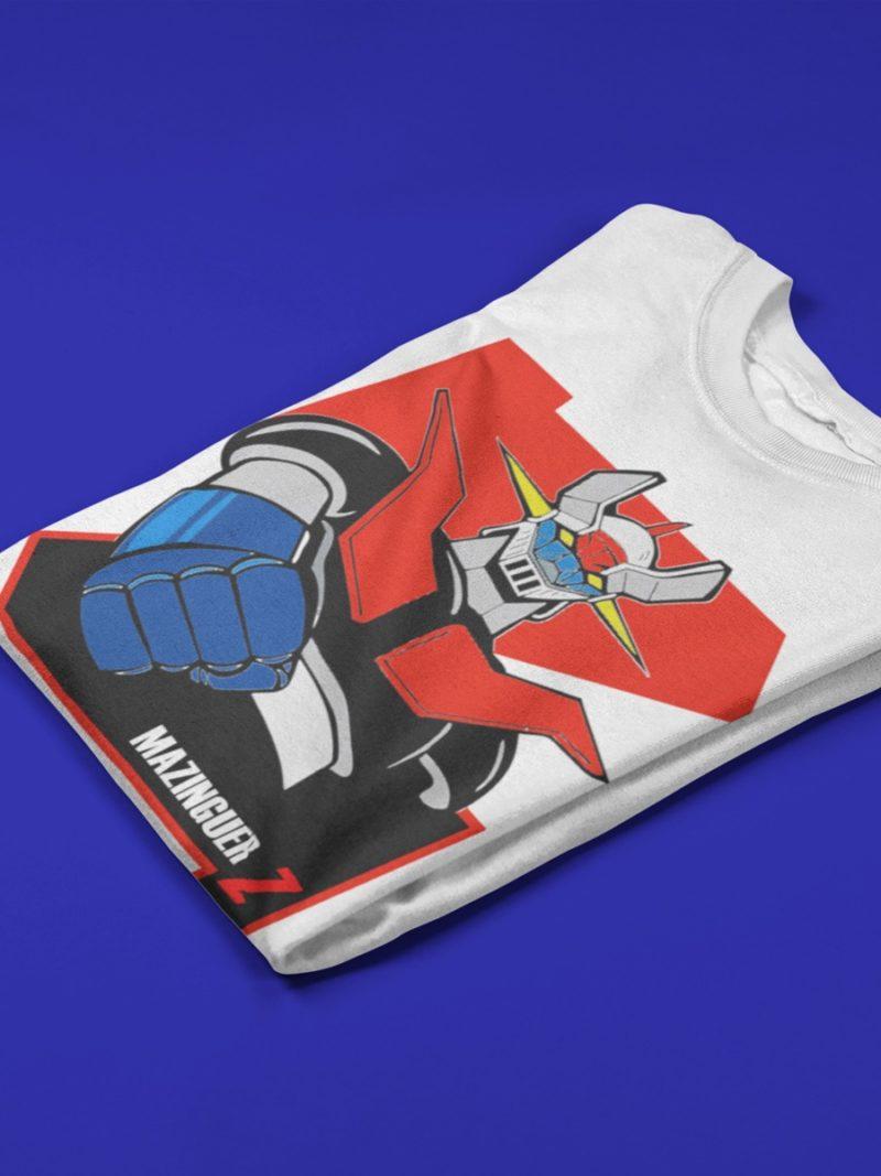camiseta mazinguer z blanca
