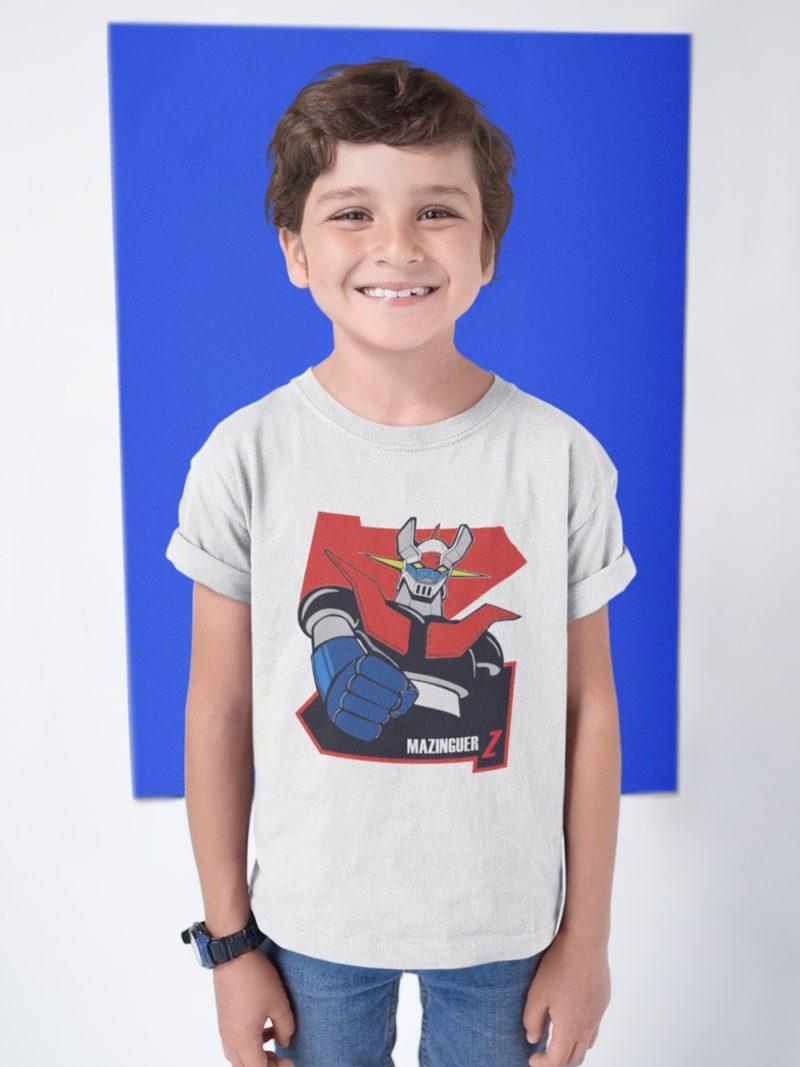 camiseta mazinguer z nino