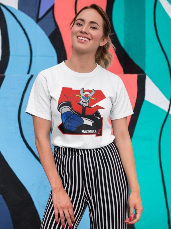 camiseta mazinguer z unisex