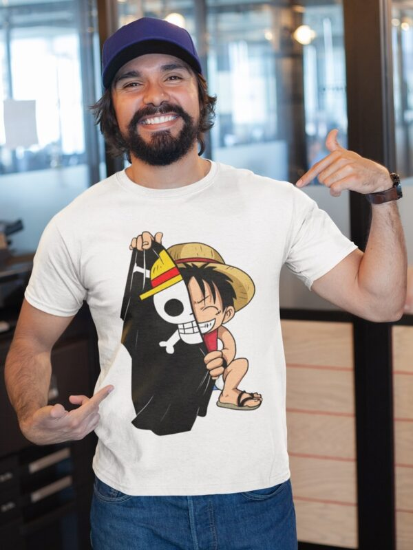 camiseta one piece adulto