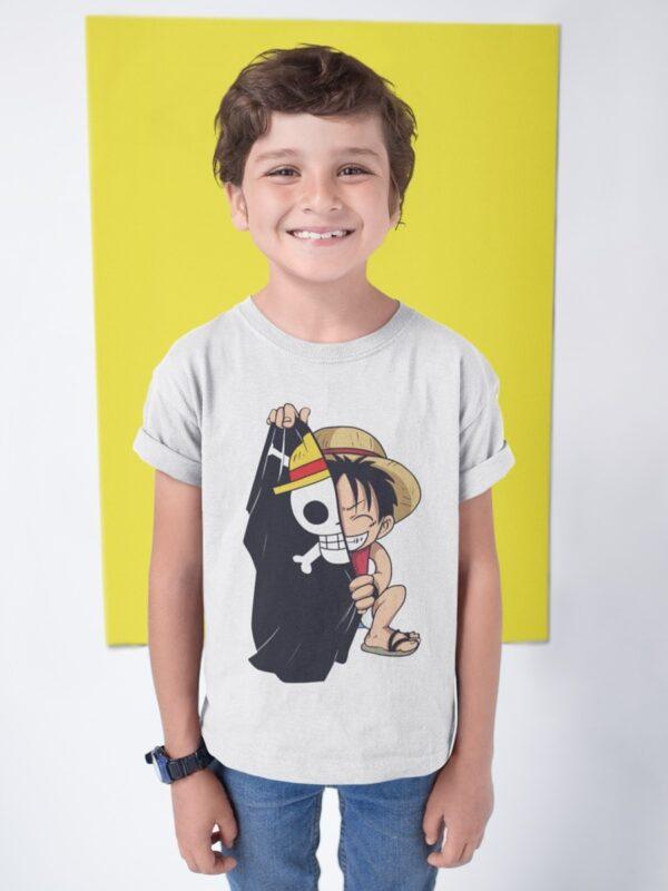 camiseta one piece para nino