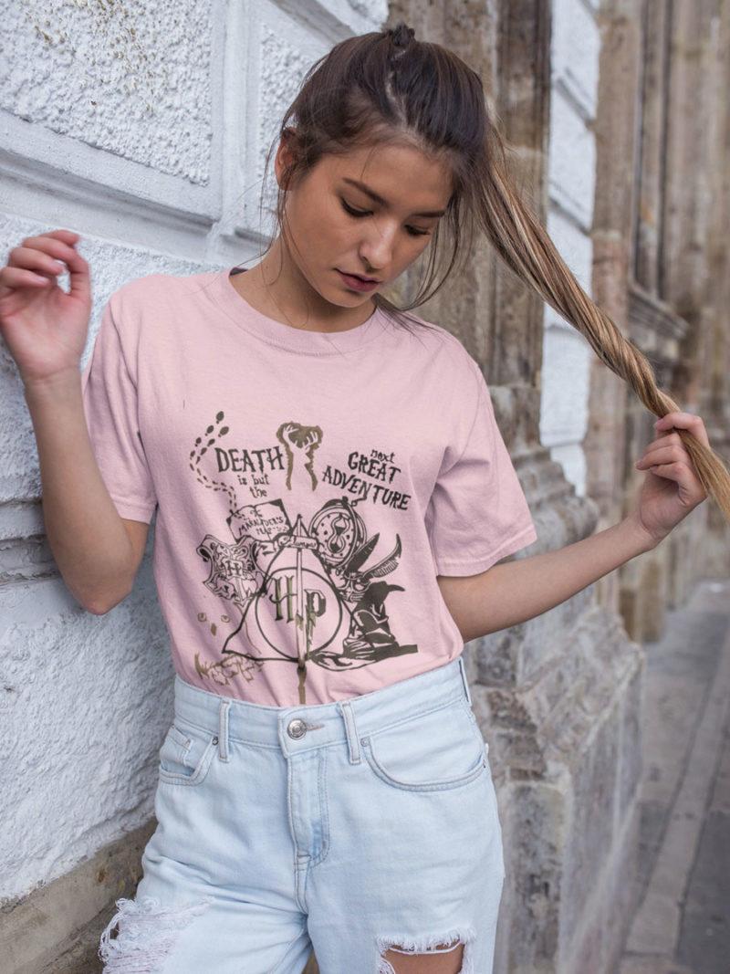 camiseta pelicula harry potter