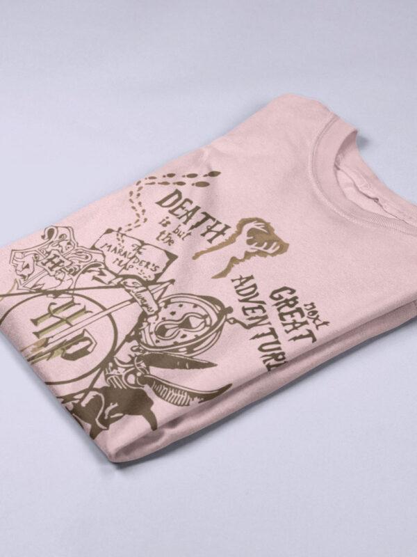 camiseta pelicula harry potter rosa