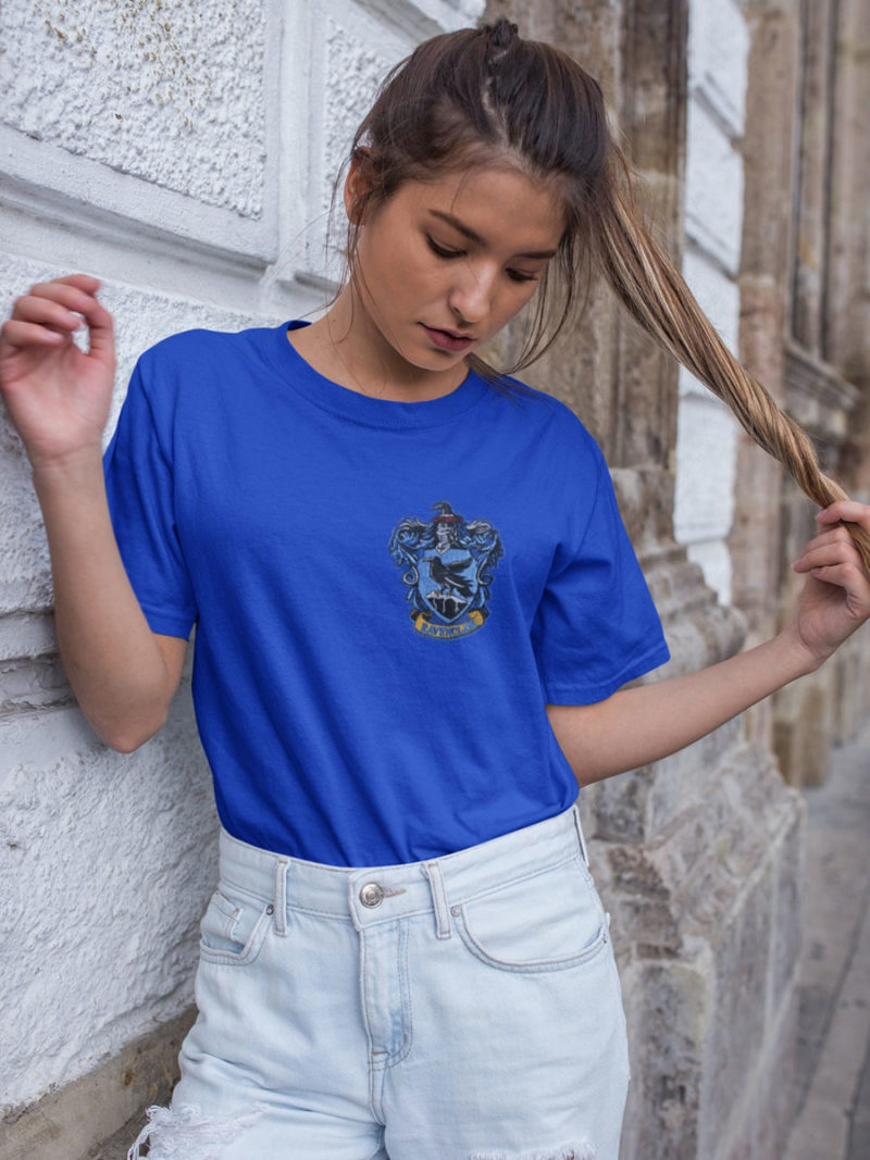 camiseta ravenclaw azul