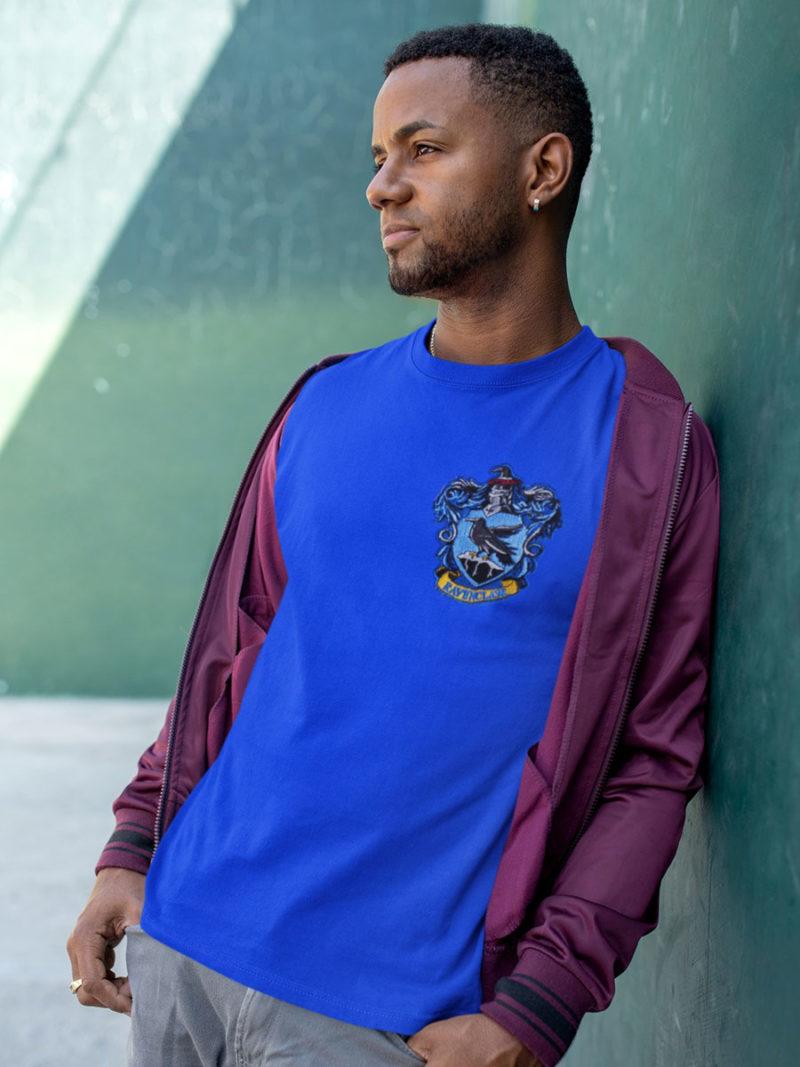 camiseta ravenclaw azul adulto