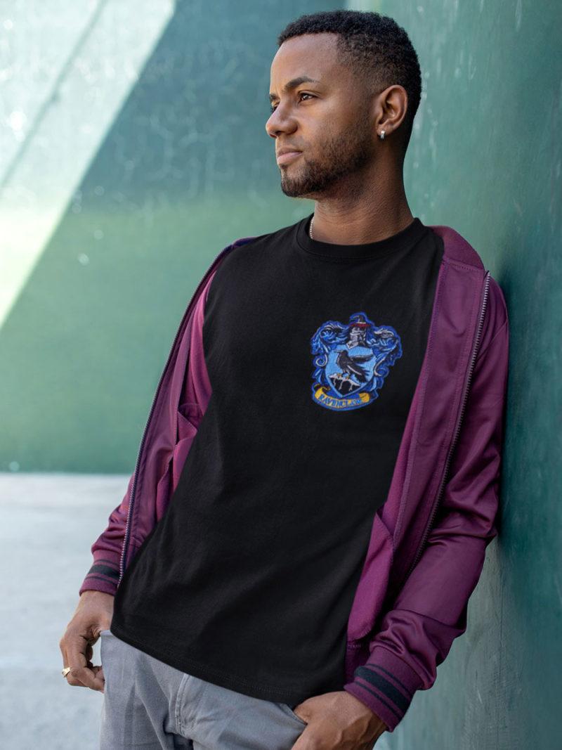 camiseta ravenclaw negra