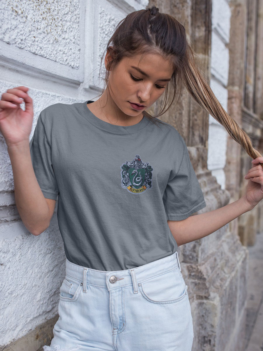 camiseta slytherin gris
