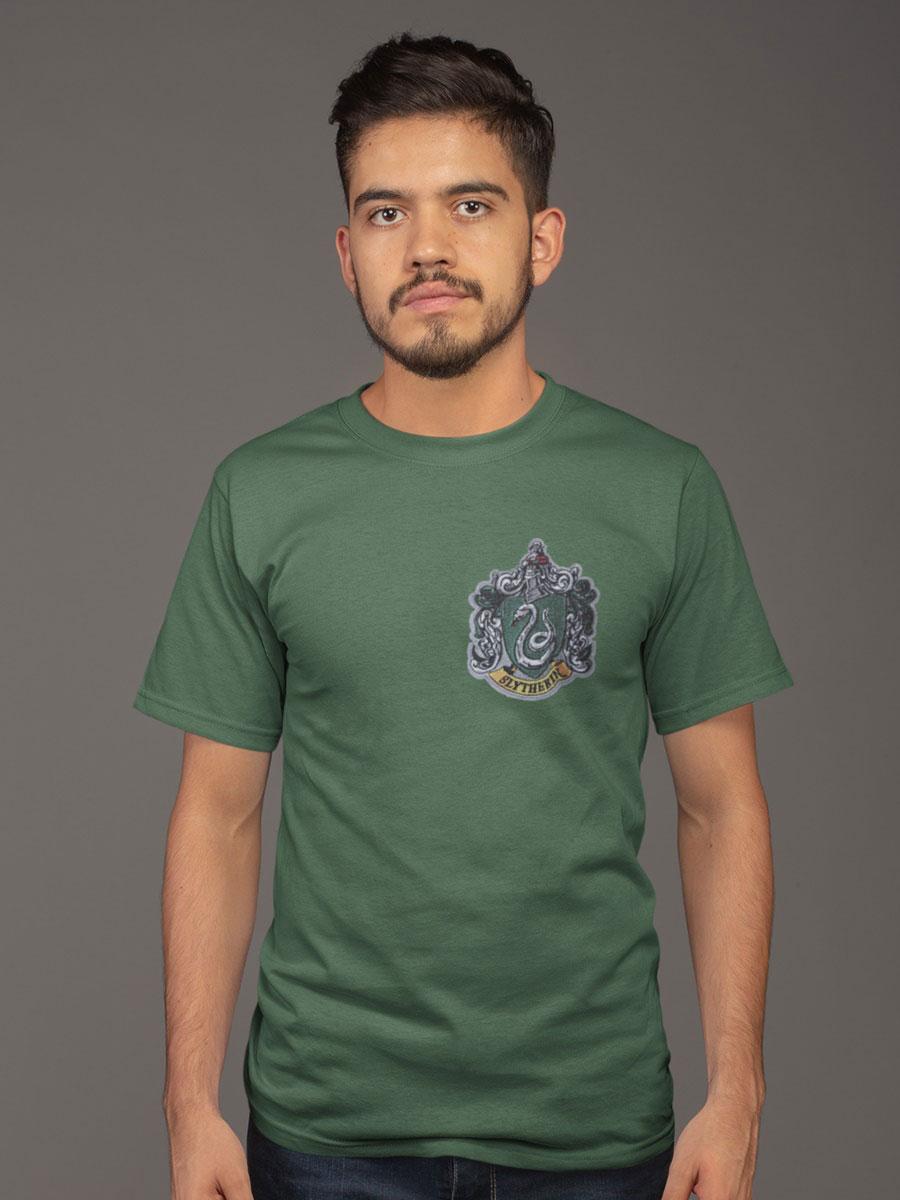 camiseta slytherin verde adulto
