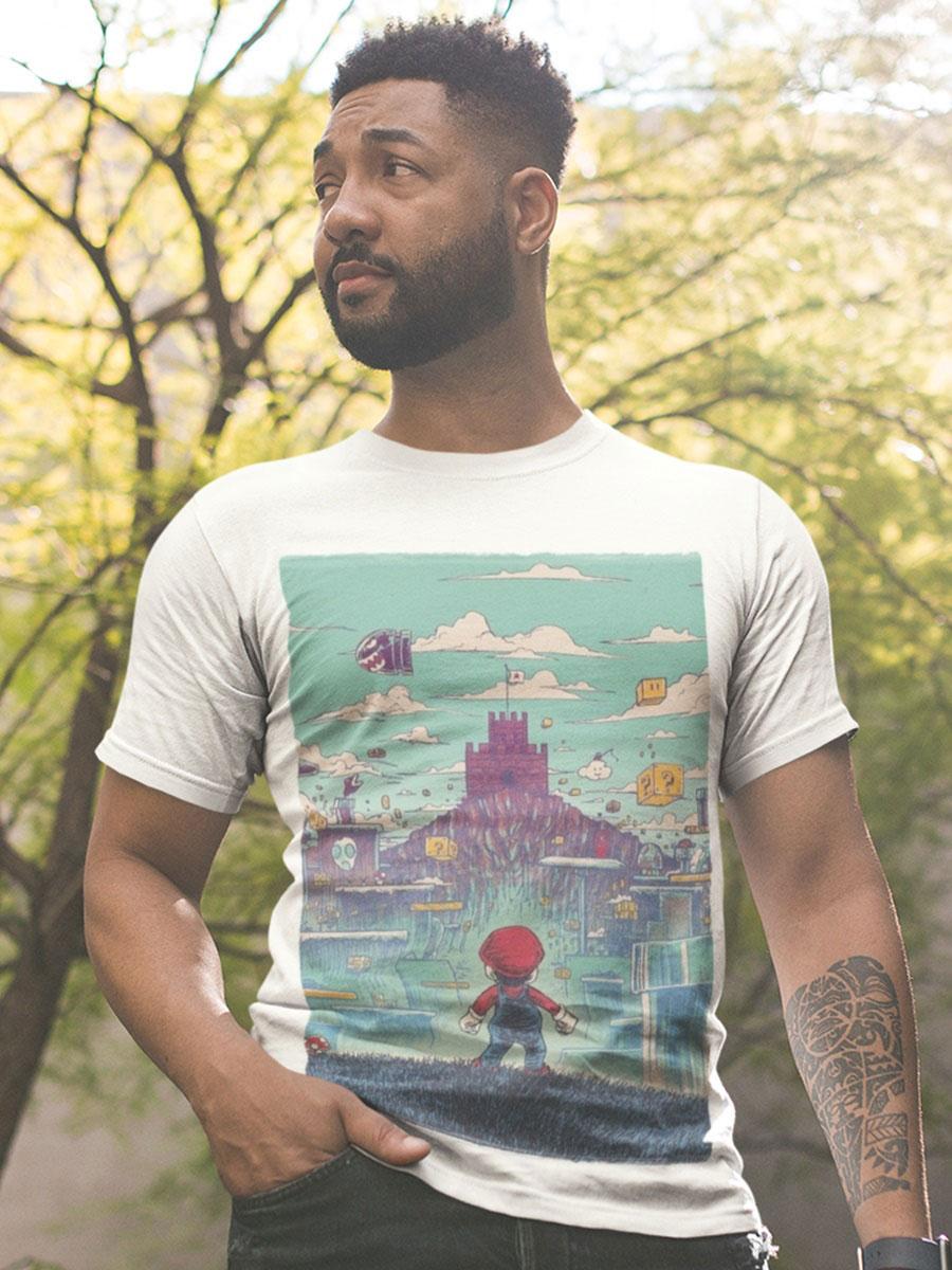 camiseta super mario adulto