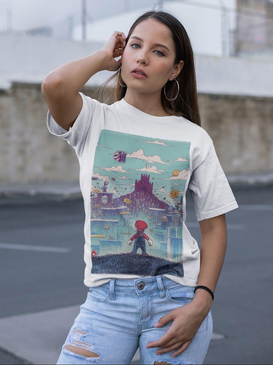 camiseta super mario unisex