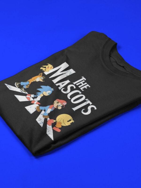 camiseta videojuegos doblada