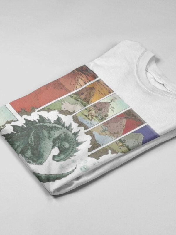 camisetas godzilla