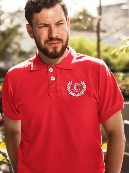 Polo rojo Sevilla FC
