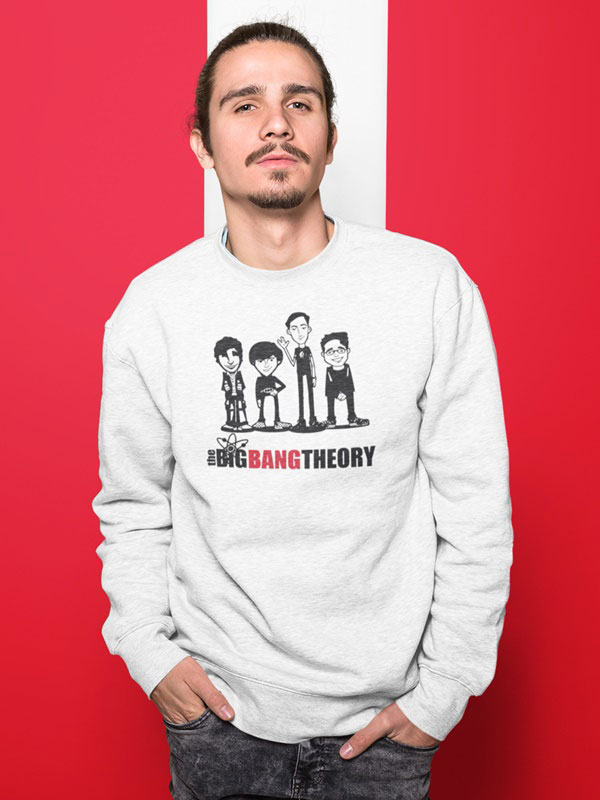 sudadera de the big bang theory