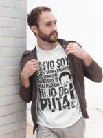 camiseta de narcos bandidos adulto
