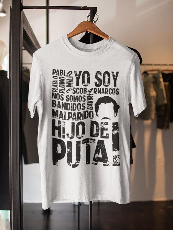 camiseta de narcos bandidos