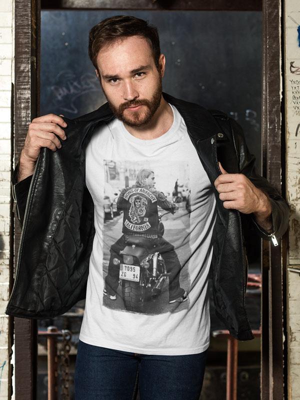 camiseta de sons of anarchy
