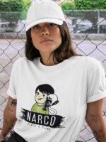 camiseta narcos marco unisex