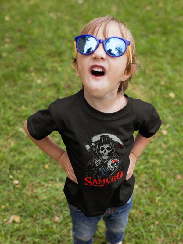 camiseta samcro nino