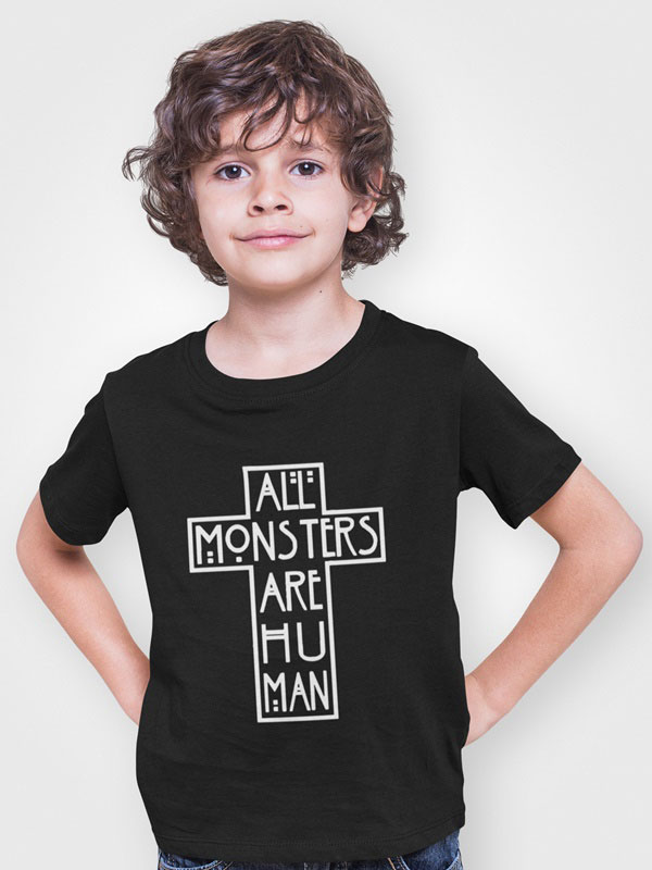 All monsters are human camiseta