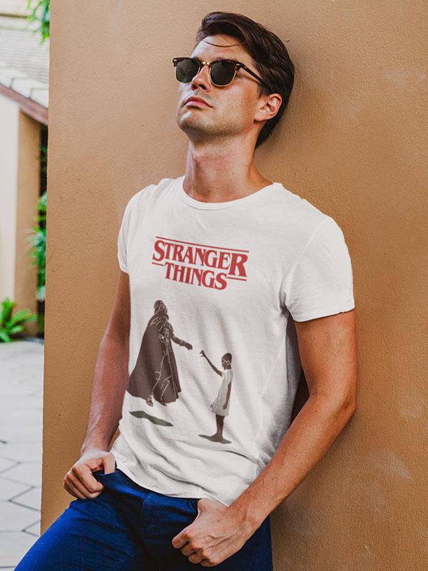 camiseta adulto stranger things la fuerza de eleven
