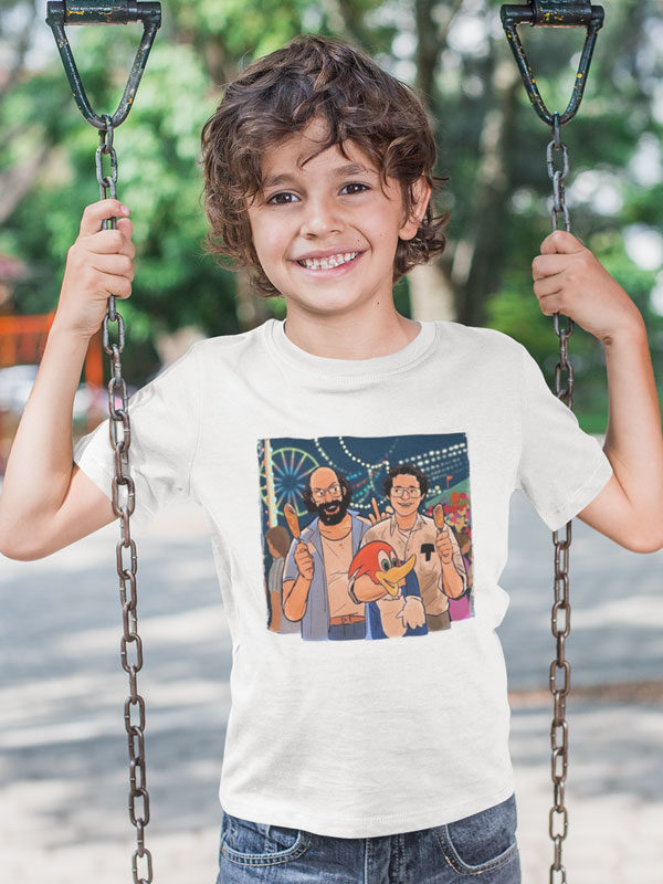 camiseta alexei stranger things infantil