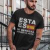 camiseta con bandera de espana