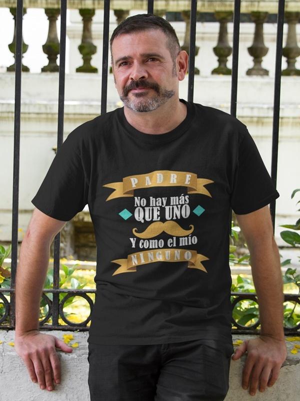 camiseta con mensaje del dia del padre