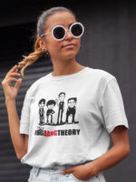 camiseta de the big bang theory unisex
