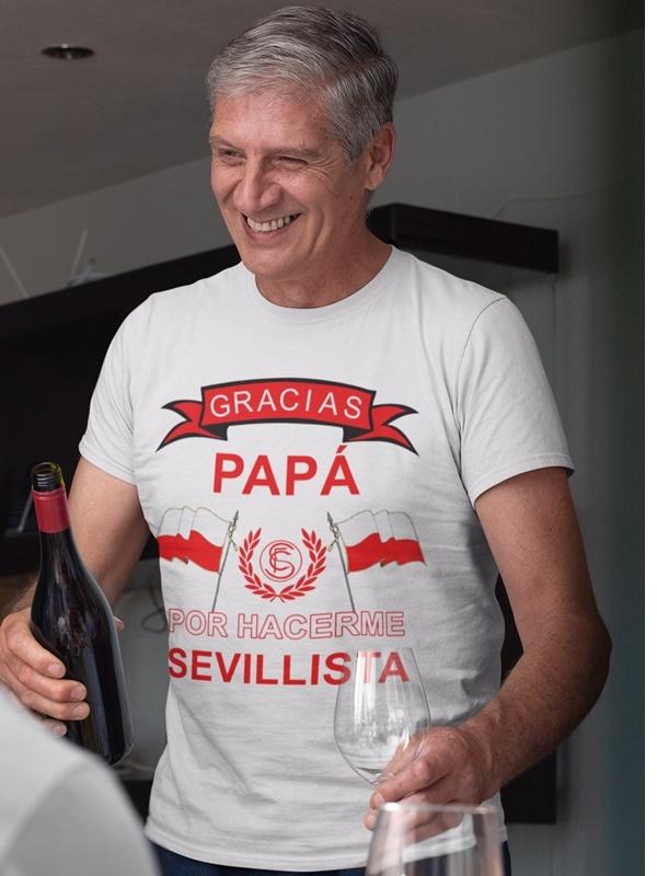 camiseta dia del padre sevillista