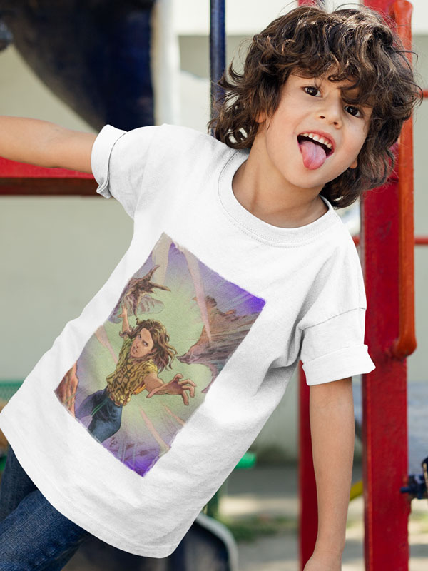 camiseta eleven vs demogorgon stranger things infantil