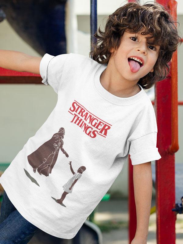 camiseta infantil stranger things la fuerza de eleven