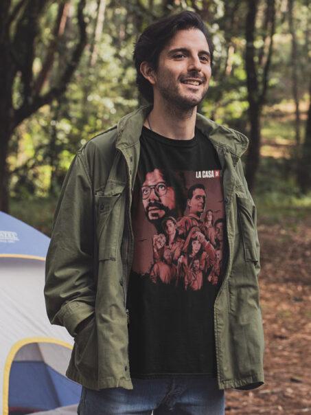 camiseta la banda del profesor adulto