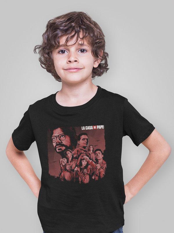 camiseta la banda del profesor infantil