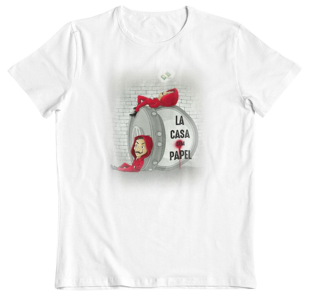 Camiseta La casa de papel soñando a lo grande