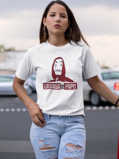 camiseta ladrones la casa de papel unisex