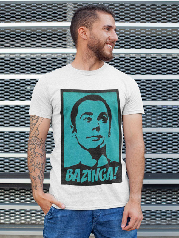 camiseta sheldon cooper adulto